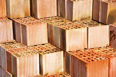 A pile of brick Stock Photo