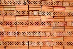 Pile brick. Stock Photos