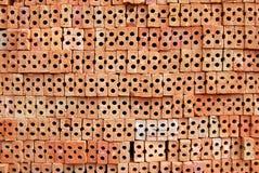 Pile brick. Stock Photography