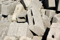 A pile of brick Royalty Free Stock Photography