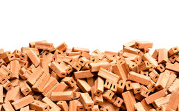 Pile Of Brick Royalty Free Stock Photo