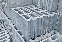 Pile brick block. Royalty Free Stock Image