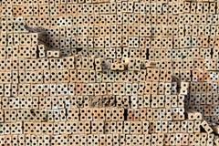 Pile of brick block. Royalty Free Stock Image