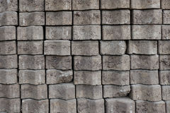 Pile of  Brick worm Stock Images
