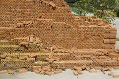 Pile of bricks Royalty Free Stock Image