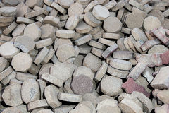 A pile of bricks Royalty Free Stock Images
