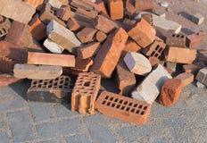 Pile of bricks Stock Photography