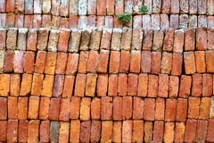 Pile of bricks Royalty Free Stock Photography