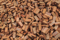 A pile of bricks orange Royalty Free Stock Photo