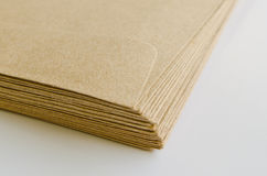 Pile of brown envelopes Stock Photography