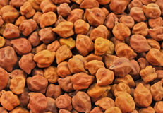 Pile of brown grams Royalty Free Stock Images