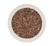 Pile of brown rice Royalty Free Stock Image