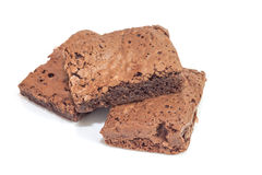 Pile of brownies Stock Photography