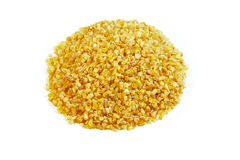 Pile of Bulgur Royalty Free Stock Images