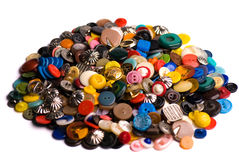 Pile of buttons Royalty Free Stock Photos