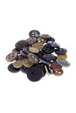 Pile of buttons Royalty Free Stock Images