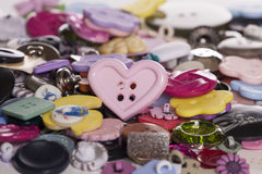 Pile of buttons abstract Royalty Free Stock Image
