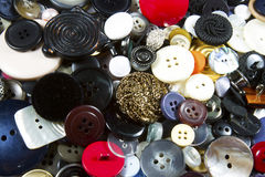 Pile of Buttons Stock Images