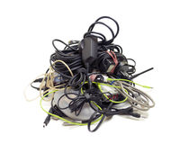 Pile of Cables Royalty Free Stock Images