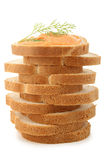 Pile of canape Stock Photo