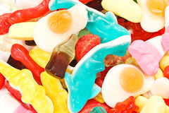 A pile of candies Royalty Free Stock Image
