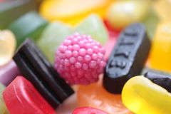 Pile of candy Royalty Free Stock Images