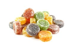 Pile of Candy Jelly Chews Stock Image