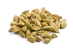 Pile of cardamom isolated close up Stock Image