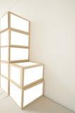 Pile cardboard box Stock Image