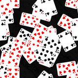 Pile of cards Royalty Free Stock Photo