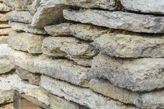 Pile carrée de dalles en pierre Photo libre de droits