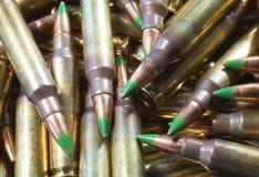 Pile of cartridges Stock Photos