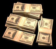 Pile of Cash Royalty Free Stock Photo