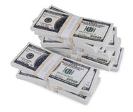 Pile of Cash Royalty Free Stock Photography