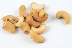 Pile of cashews Royalty Free Stock Image