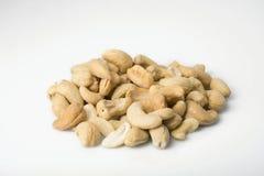 Pile of Cashews - Angled Stock Photography