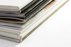 Pile of Catalogs Stock Images