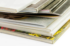 Pile of Catalogs Royalty Free Stock Photos