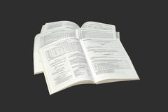 Pile catalogs. Royalty Free Stock Image