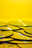 Pile of cds Stock Images