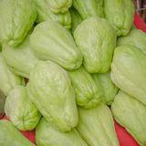 Pile chayote fresh vegetables Royalty Free Stock Photography