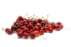 Pile of cherries Royalty Free Stock Photos