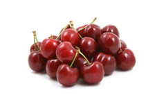 Pile of cherries Stock Image
