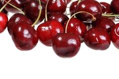Pile of cherries shallow DOF Royalty Free Stock Photos