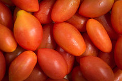 A pile of cherry tomatoes Stock Image