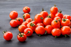 Pile of cherry tomatoes Stock Photography