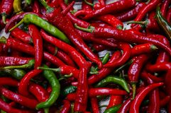 A pile of chili& x27;s royalty free stock image