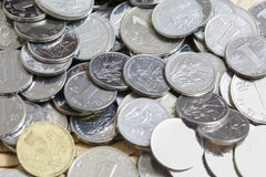 A pile of China  RMB coins Stock Image