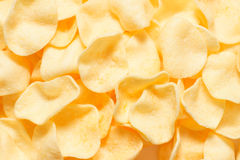 Pile of chips Stock Photography