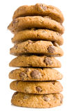 Pile of chocolate cookies Stock Photography